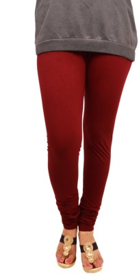 Leggings World Women's Maroon Leggings