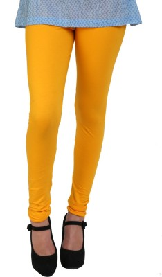 Hashcart Women's Yellow Leggings