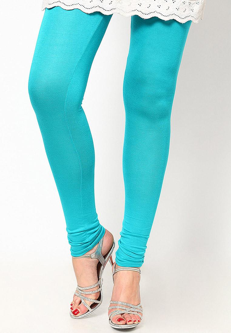 Sportelle USA India Womens Blue Leggings