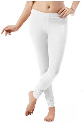 LuvCare Women's White Leggings