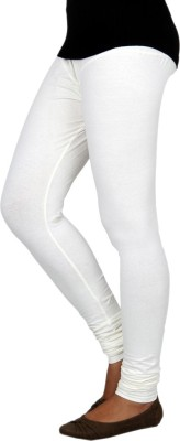 Barkha Fashion Women's White Leggings