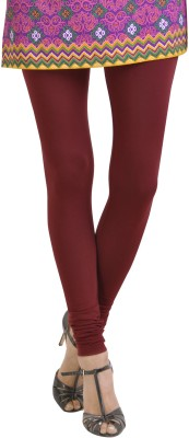 Aanchal Women's Maroon Leggings