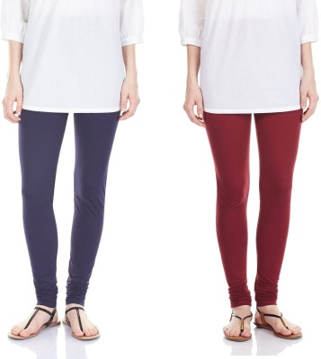 SRS Women's Maroon, Blue Leggings
