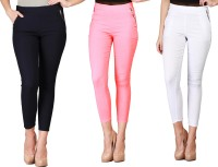 SYS Women's White, Pink, Blue Jeggings best price on Flipkart @ Rs. 1299