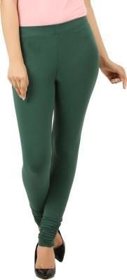 New Darling Women's Dark Green Leggings