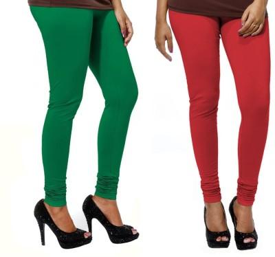 VP Vill Parko Women's Red, Red Leggings