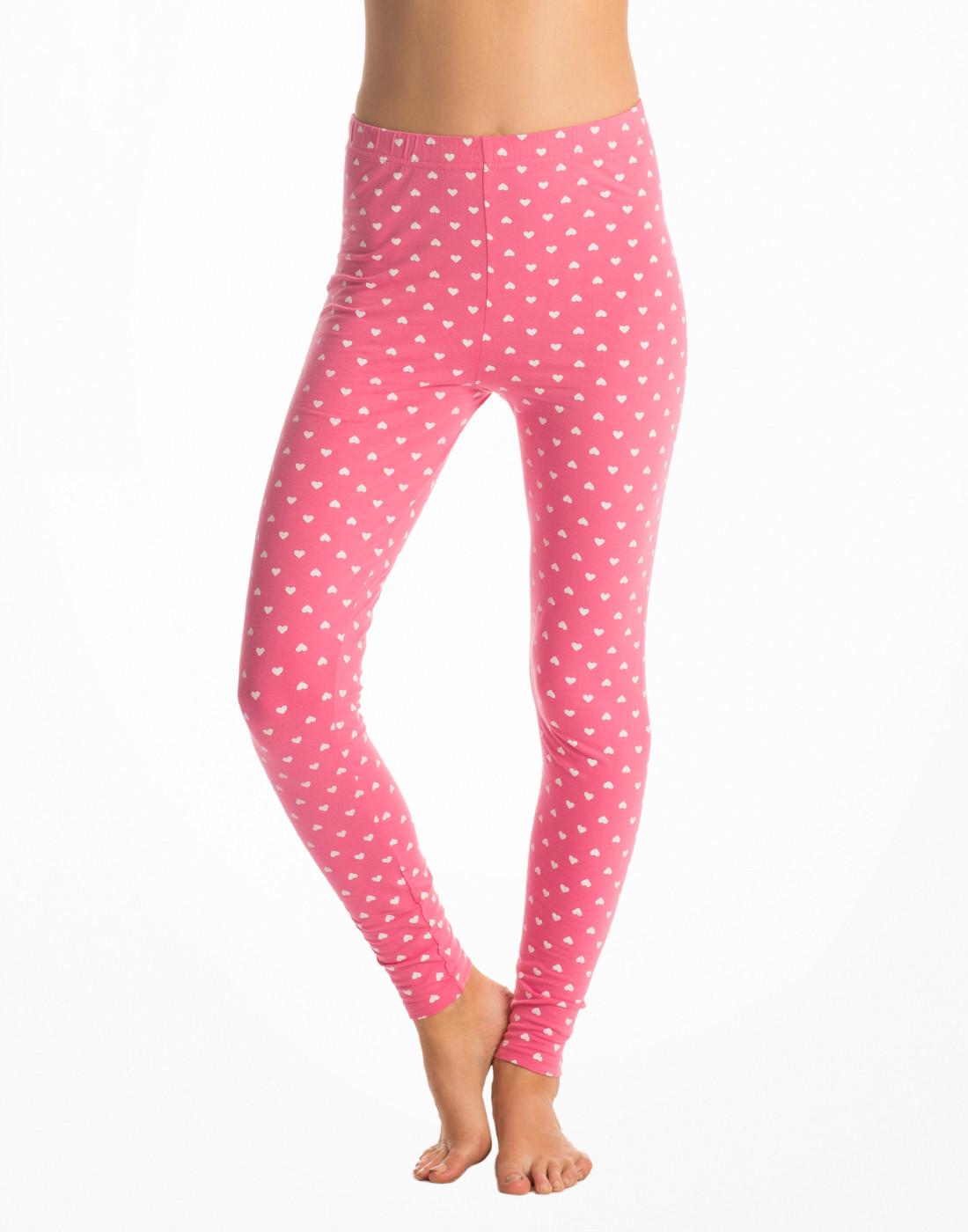 PrettySecrets Womens Pink Leggings