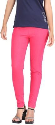 Hbhwear Women's Pink Jeggings