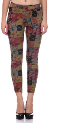 Saiints Women's Multicolor Jeggings