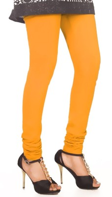 vivancreation Girl's Yellow Leggings