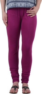 American-Elm Women's Purple Leggings