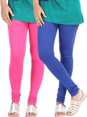 Be-Style Women,s Blue, Pink Leggings