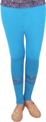 T-BRO,S Enterprises Women's Light Blue Leggings