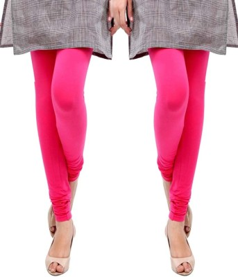 Sampoorna Collection Women's Pink, Pink Leggings
