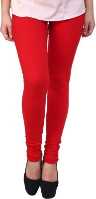 Charu Boutique Women's Red Leggings