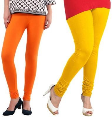 VP Vill Parko Women's Yellow, Orange Leggings