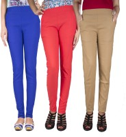 iHeart Women's Blue, Beige, Pink Jeggings best price on Flipkart @ Rs. 999