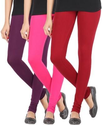 Elance Women's Purple, Pink, Maroon Leggings