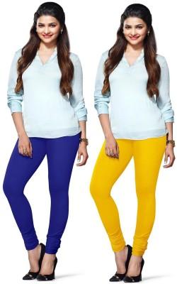 Amul Florio Women's Blue, Yellow Leggings