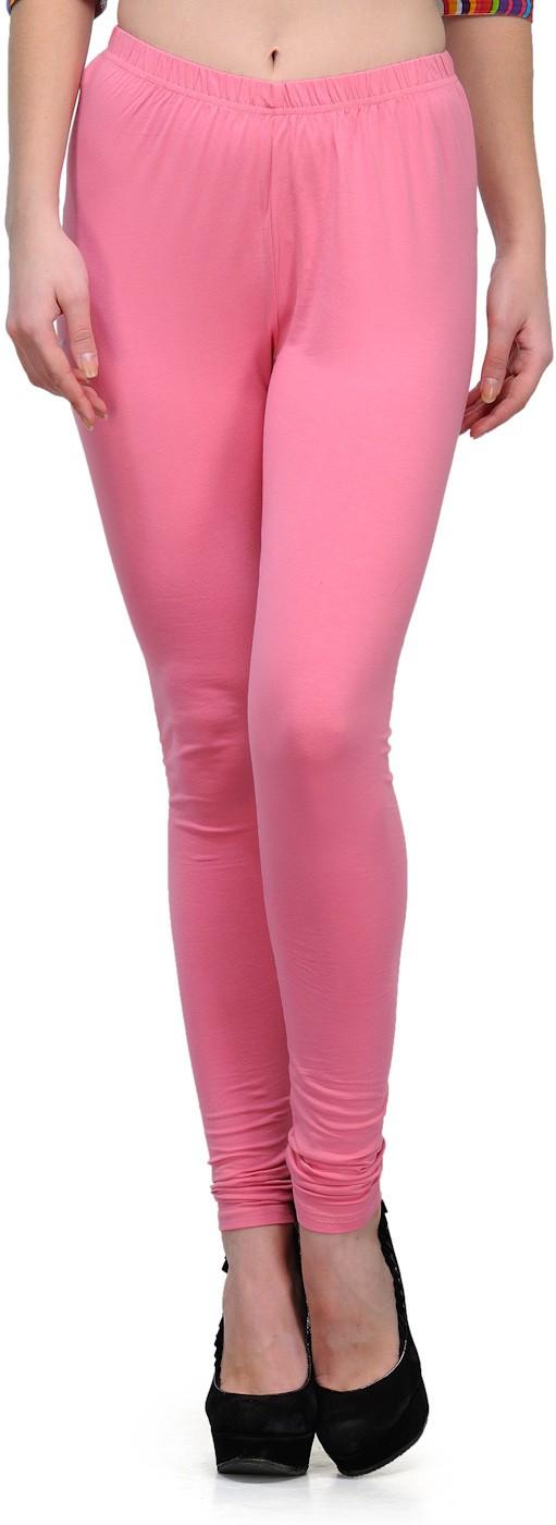 Ffu Womens Pink Leggings
