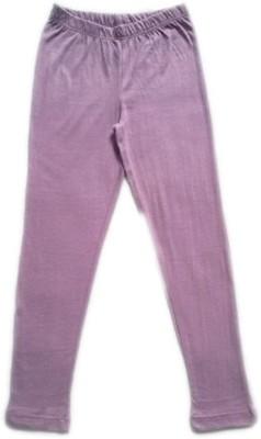 Melisa Girl's Purple Leggings