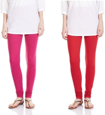 SRS Women's Pink, Red Leggings