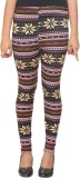 Manmandir Women's Multicolor Leggings