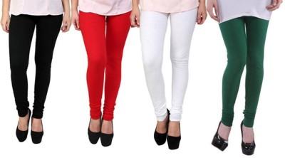 Fashion Zilla Women's Black, Red, White, Blue Leggings