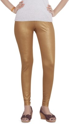 Back The Collection Women's Gold Leggings