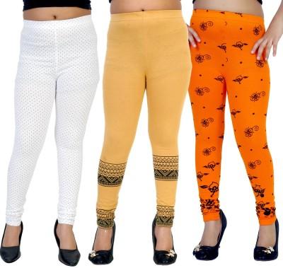 Gee & Bee Girl's Multicolor Leggings