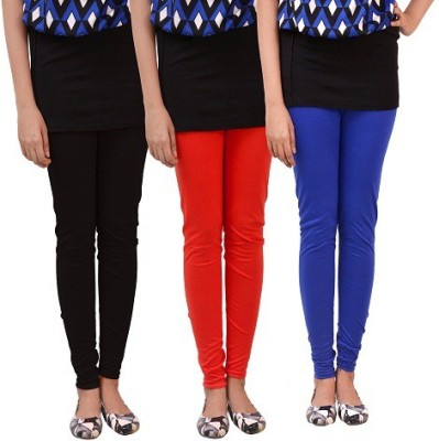 carrol Women's Black, Red, Blue Leggings