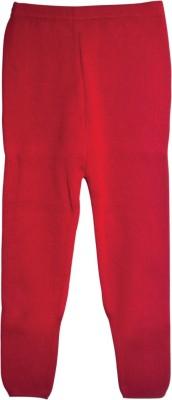 Mee Mee Girl's Red Leggings