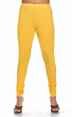 D-manyaa Women's Yellow Leggings