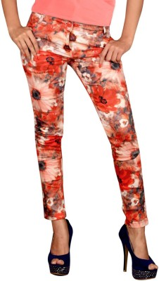 Vogue4all Women's Orange Jeggings
