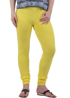 American-Elm Women's Yellow Leggings