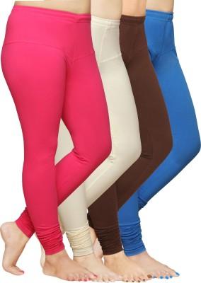 Pomelo Women's Pink, Blue, Beige, Brown Leggings