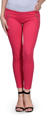 Being Fab Women's Pink Jeggings