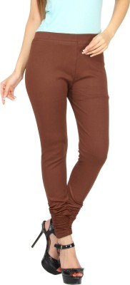 Evila India Retails Private Limited Women's Brown Leggings