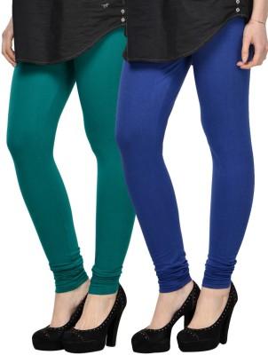 Kjaggs Women's Blue, Green Leggings