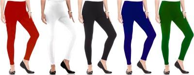 Kamuk Life Women's Black, White, Green, Red, Blue Leggings