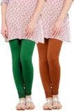 WellFitLook Women's Green, Brown Legging...