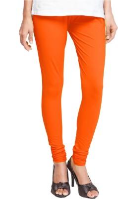 Triveni Women's Orange Leggings