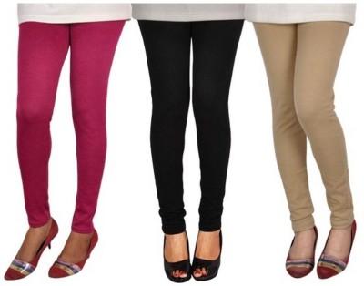 Mount Beauty Women's Black, Maroon, Brown Leggings