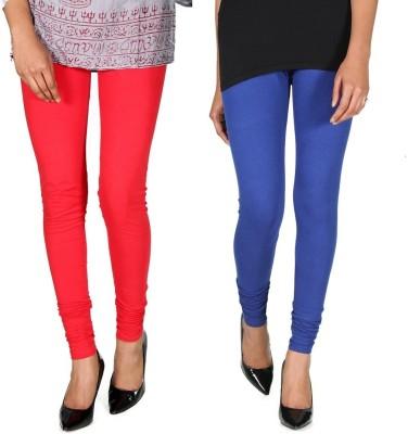 Ally Of Focker Women's Red, Blue Leggings