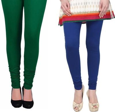 Vastra Buzz Women's Blue, Green Leggings