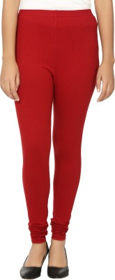 Day By Day Women's Red Leggings