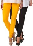 Fasense Women's Yellow, Black Leggings (...
