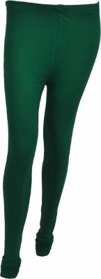 No Exxcess Women's Dark Green Leggings