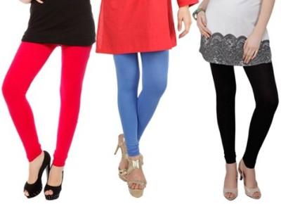 Prekrasna Women,s Red, Blue, Black Leggings