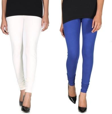 Ally Of Focker Women's Blue, White Leggings